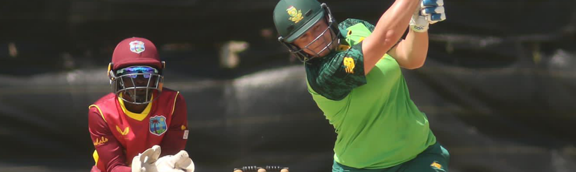 Lizelle Lee starred in South Africa's victory