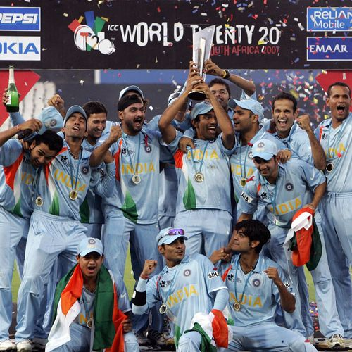 India won the inaugural ICC Men's T20 World Cup in 2007