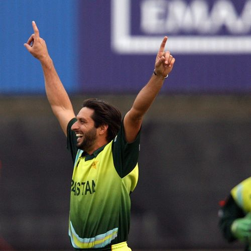 2007 Player of the Series – Shahid Afridi – 12 wickets and 91 runs