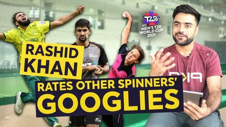 Rashid Khan rates other spinners' googlies