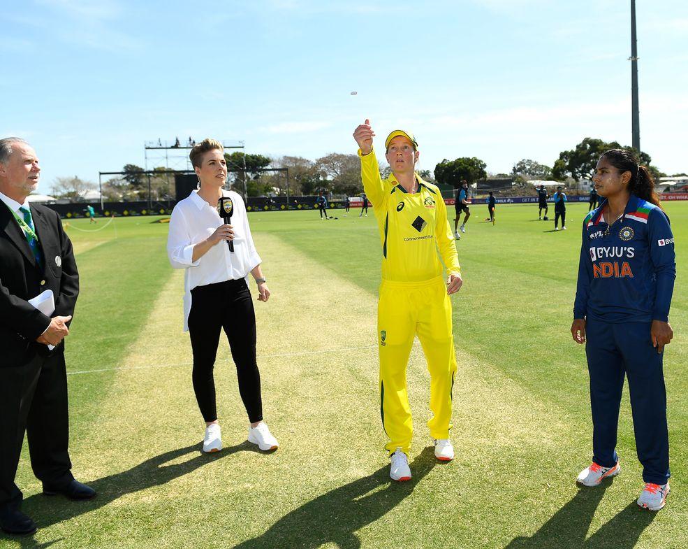 Australia-India – 1st Women's ODI toss