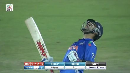 Postpe Greatest Moments: Dhoni lets Kohli finish South Africa