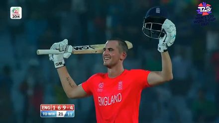 Throwback: Alex Hales' 116* against Sri Lanka at the 2014 T20 World Cup
