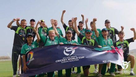 Ireland qualify for ICC U19 Men's Cricket World Cup 2022 | Europe Qualifier Final