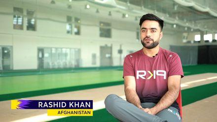 Rashid Khan on Afghanistan's lofty ambitions