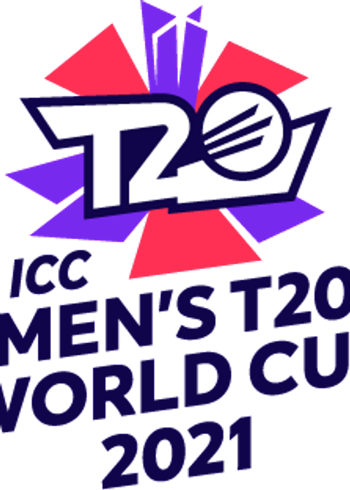 Downloadable ICC Men's T20 World Cup Logo for editorial use.