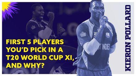 Kieron Pollard's top five T20 players