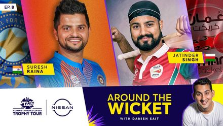 Around The Wicket with Danish Sait | Episode 8 ft. Suresh Raina and Jatinder Singh
