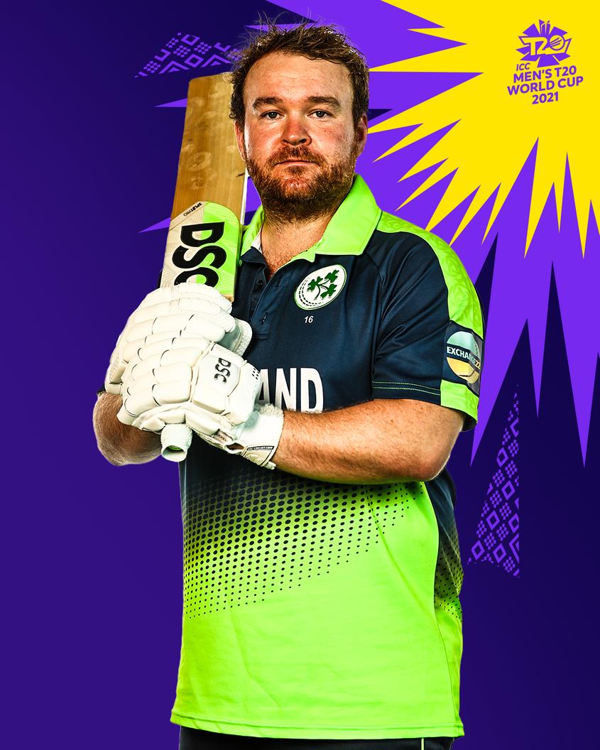 Ireland's T20 World Cup kit.