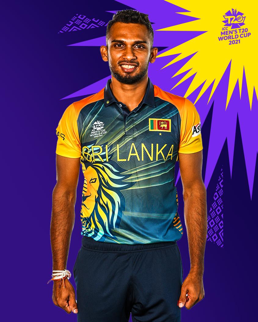 One of Sri Lanka's T20 World Cup kits.