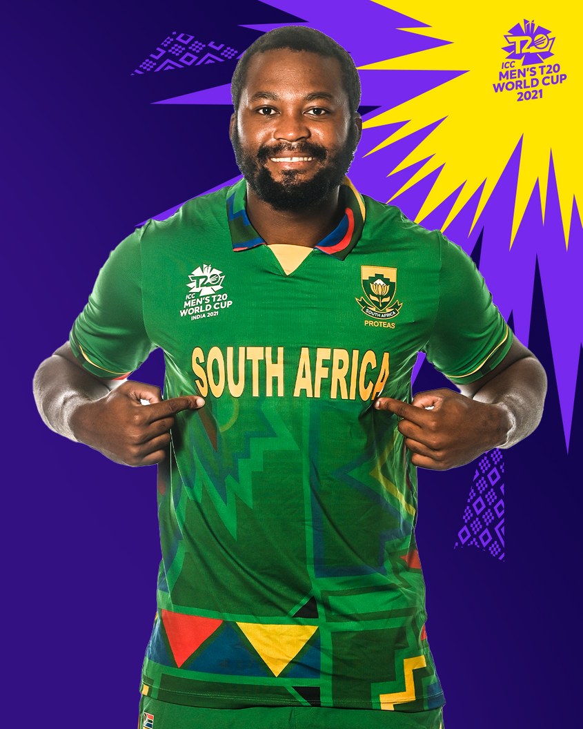 One of South Africa's T20 World Cup kits.