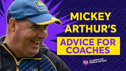 Mickey Arthur's love for coaching | T20 World Cup