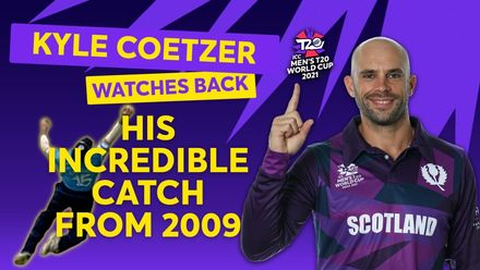 Kyle Coetzer Watches Incredible 2009 Catch Back | T20 World Cup