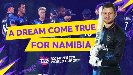 Playing for Namibia | T20 World Cup