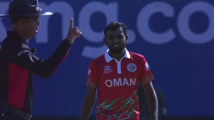 OMNvPNG: Charles Amini run out for 37