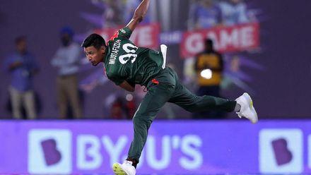 Mustafizur Rahman narrowly misses out on hat-trick