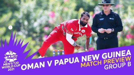 M1: Oman v PNG | Match Preview | T20 World Cup