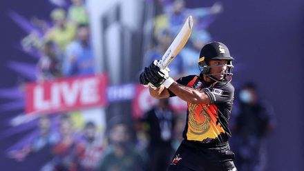 Assad Vala saves PNG innings with classy fifty