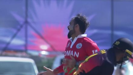 First wicket of the T20 World Cup 2021