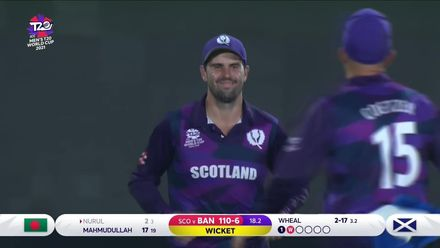 Callum MacLeod takes stunning catch in the deep