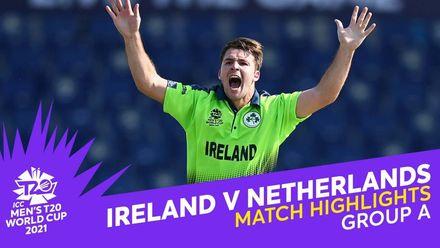 Match Highlights: Ireland v Netherlands