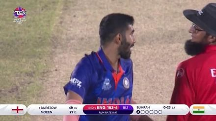 Bumrah removes Bairstow with a perfect yorker