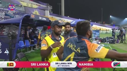 SLvNAM: Rajapaksa finishes match with six