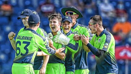 Campher takes four wickets in four balls