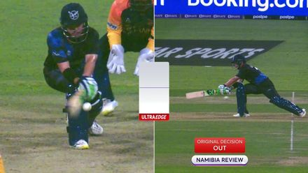 SRLvNAM: Namibia unsuccessful in DRS review
