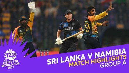 Match Highlights: Sri Lanka v Namibia