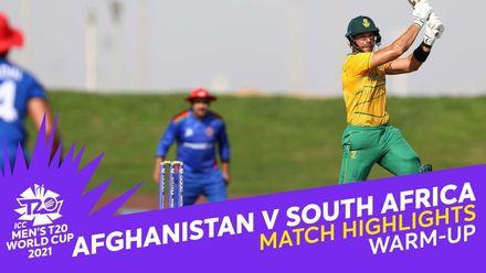 Match Highlights: Afghanistan v South Africa