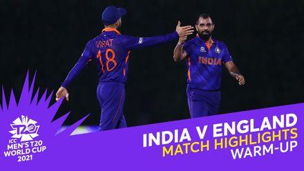 Match Highlights: India v England