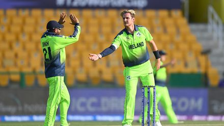 Ireland claim three wickets in final over