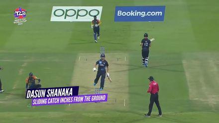 Nissan POTD: Shanaka's one-handed sliding catch
