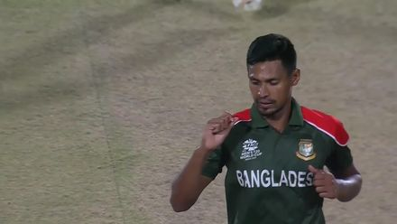 BANvOMN: Rahman collects his fourth wicket