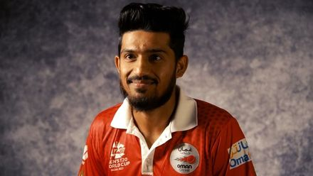 Get to know Oman's Aqib Ilyas | T20 World Cup