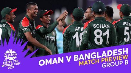 M6: Oman v Bangladesh   Match Preview   T20 World Cup