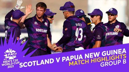 Match Highlights: Scotland v Papua New Guinea