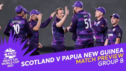 M5: Scotland v Papua New Guinea   Match Preview   T20 World Cup