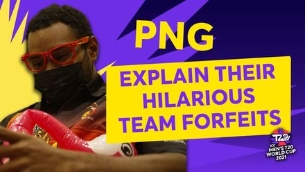 PNG's inflatable flamingo | T20 World Cup