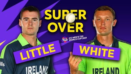 Super over with Ben White and Josh Little | T20 World Cup