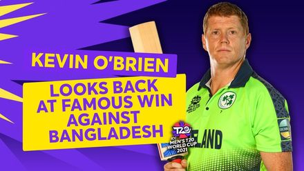 Kevin O'Brien looks back on Ireland's famous win over Bangladesh | T20 World Cup