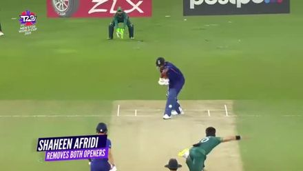 Nissan POTD: Shaheen Afridi removes India openers