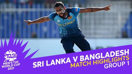 Match Highlights: Sri Lanka v Bangladesh