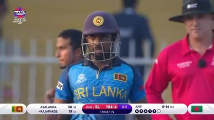 Fifty for the Sri Lankan number three