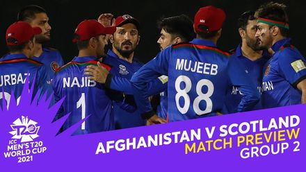 M17: Afghanistan v Scotland | Match Preview | T20 World Cup