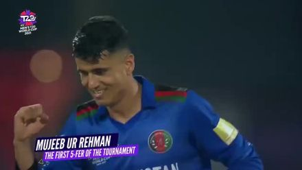 Nissan POTD: Mujeeb Ur Rahman's five-for