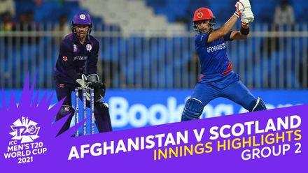 Innings Highlights: Afghanistan v Scotland