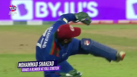 Nissan POTD: Mohammad Shahzad's diving catch