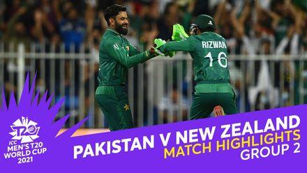 Match Highlights: Pakistan v New Zealand